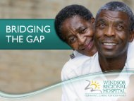 Download - Windsor Regional Hospital