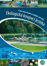 Ekologická koupací jezírka - Svaz zakládání a údržby zeleně