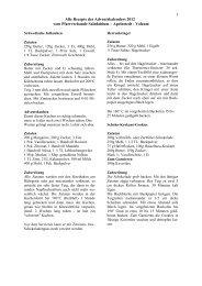 Alle Rezepte des Adventskalenders 2012 - Pfarrverband ...
