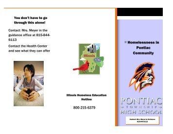 Ponitac High School Final Project Informational Pieces