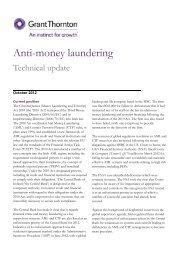 Anti-money laundering - Grant Thornton