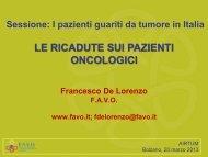 slide - Associazione Italiana Registri Tumori