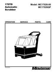 Minuteman 170 Scrubber Manual.pdf - Tedjgross.com ...