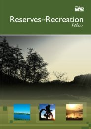 Reserves and Recreation Policy - Waikato District Council
