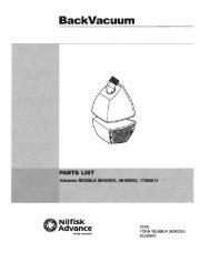 Nilfisk Back Vacuum Parts Manual.pdf - Tedjgross.com ...