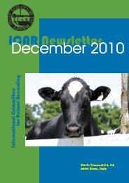ICAR Newsletter December 2010