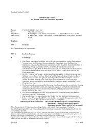 Protokoll Runder Tisch 17.06.03 - Agenda-wuerselen.de