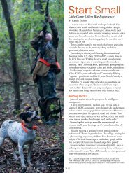 View Article - Arkansas Game and Fish Commission