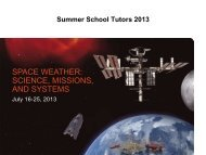 tutors - Summer School Alpbach 2013