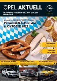 DER NEUE OPEL ASTRA. - Autohandel Gebr. van Eupen GmbH