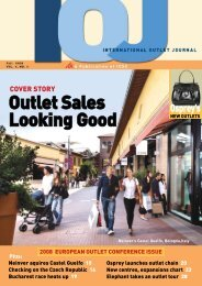 Outlet Sales Looking Good - Value Retail News