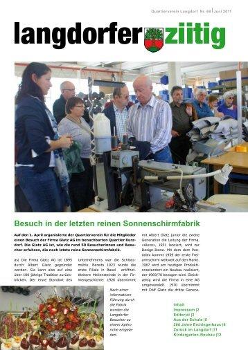 Besuch in der letzten reinen Sonnenschirmfabrik - Quartierverein ...
