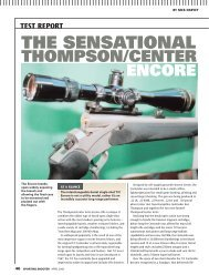 Encore Sporting Shooter April 2009 - Frontier Arms
