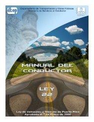Manual del Conductor (2009) - Puerto Rico!