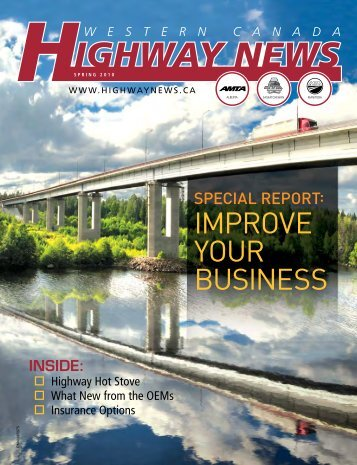 IMPROVE YOUR BUSINESS - Western Canada Highway News