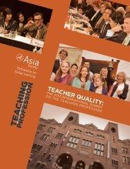 Teacher QualiTy: - Asia Society