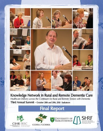 2010 Summit Report pdf - CCHSA - Canadian Centre for Health and ...