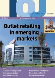 Outlet retailing in emerging markets - Value Retail News