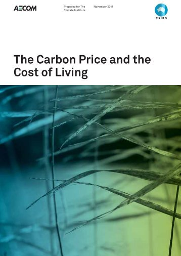 The Carbon Price and the Cost of Living - The Climate Institute