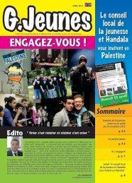 Télécharger le journal G.Jeunes n° 19 - Gennevilliers
