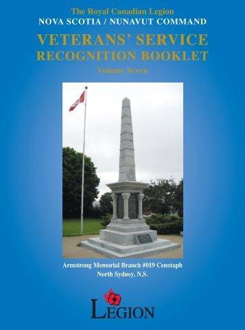 VETERANS' SERVICE - Royal Canadian Legion
