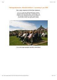 2. pinsedag, 5. juni 2006 - tryggevaeldeprovsti.dk