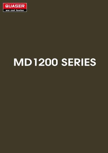 MD1200 SERIES - Stroje