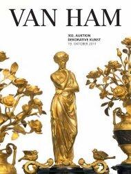 dekorative kunst - VAN HAM Kunstauktionen