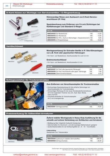 Manuli Kofferset - Rösner KFZ Werkzeuge