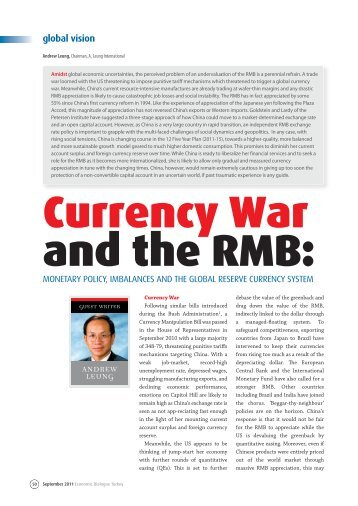 Download Currency War and the RMB - Andrew Leung International ...