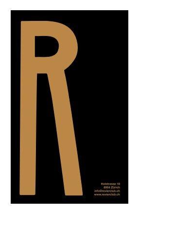 Vermietung (PDF) - REVIER
