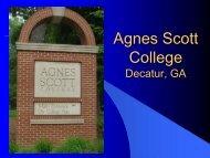 Agnes Scott College College