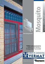Folder - VERMAT ramen & zonwering