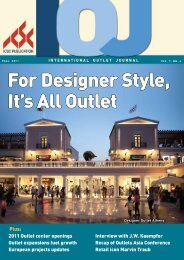 For Designer Style, It's All Outlet - Value Retail News