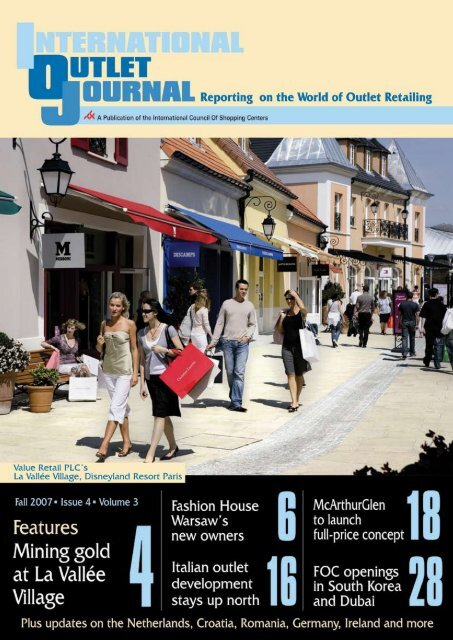 Fall 2007 Issue Value Retail News