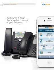 Learn what a cloud phone system can do for your business.