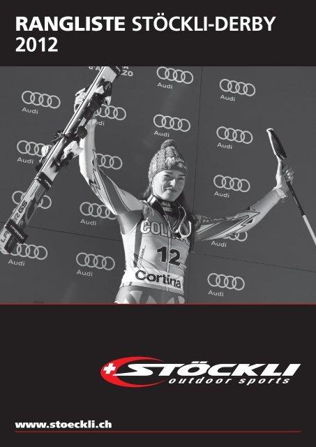 RANGLISTE STÖCKLI-DERBY 2012 - ALGE-TIMING Schweiz