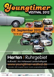 Programmheft 2012 - Youngtimer Vestival