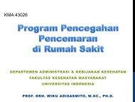 Pencegahan Pencemaran 1 - Blog Staff UI - Universitas Indonesia