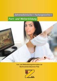 Fort- und Weiterbildung - Bezirkszahnärztekammer Pfalz