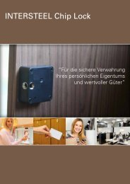 Intersteel Chip lock - Van Leeuwen - Home