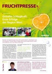 Geballte Schlagkraft: Erste Erfolge der Region West - vanWylick