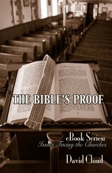 The Bible's Proof - Way of Life Literature