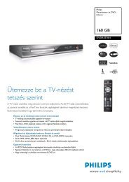 DVDR3570H/58 Philips Merevlemez- és DVD-felvevő