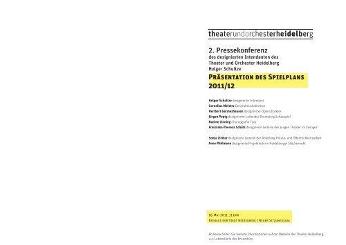 Spielplan 2011/2012 - IOCO