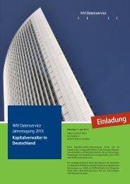 Kapitalverwalter in Deutschland - WM Seminare