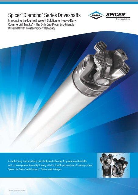 spicer diamond series drive shaft