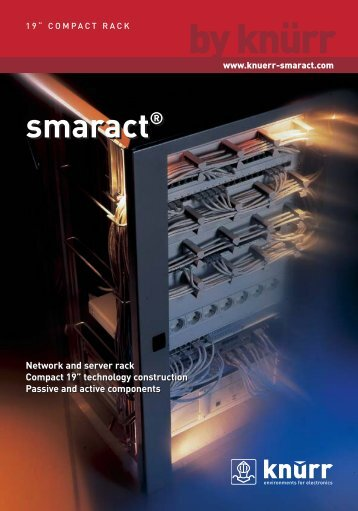 Smaract Networt Rack - Server Rack - elvac sk