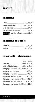 restaurant »drinks - CapaTosta - Page 2