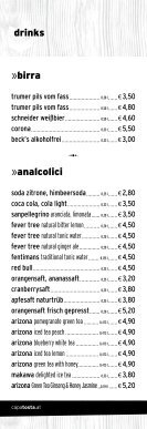 restaurant »drinks - CapaTosta - Page 4